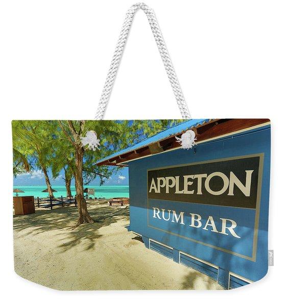 Tropical Rum Bar Weekender Tote Bag