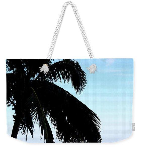 Tropical Sea View From Patio Weekender Tote Bag