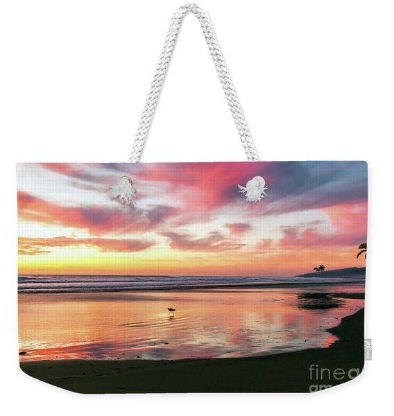 Tropical Sunset Island Bliss Seascape C8 Weekender Tote Bag