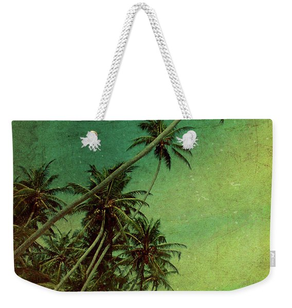 Tropical Vestige Weekender Tote Bag