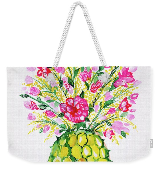 Tropical Vibes Weekender Tote Bag