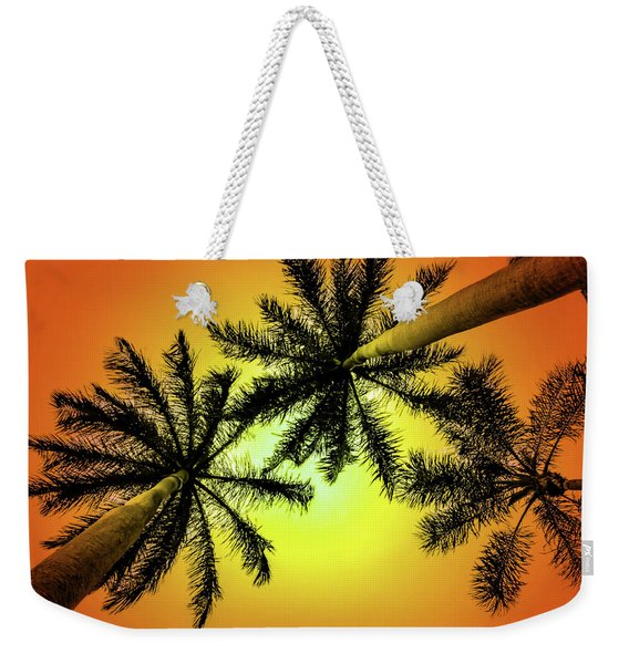 Tropical Vibrance Weekender Tote Bag