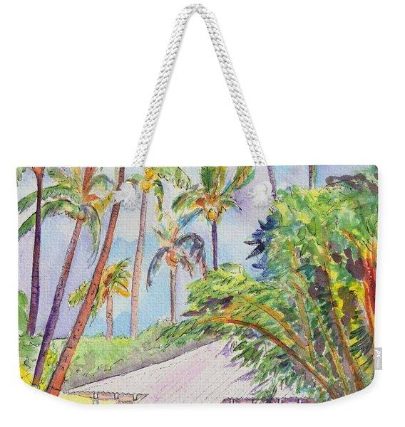 Tropical Waimea Cottage Weekender Tote Bag