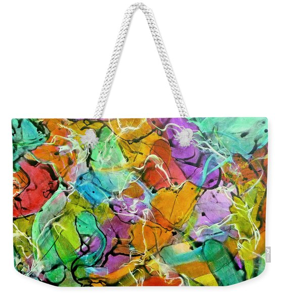 Tropical Water Weekender Tote Bag