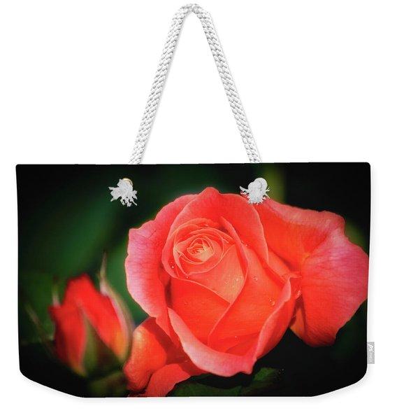 Tropicana Rose Weekender Tote Bag