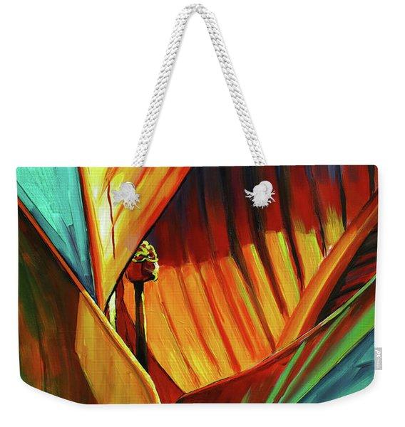Tropicanna Canna Weekender Tote Bag