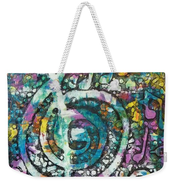 Trouble With Trebles Weekender Tote Bag