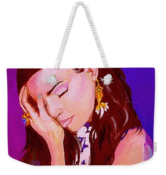 Troubled Weekender Tote Bag