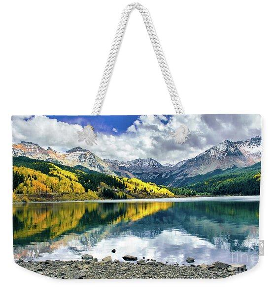 Trout Lake Weekender Tote Bag
