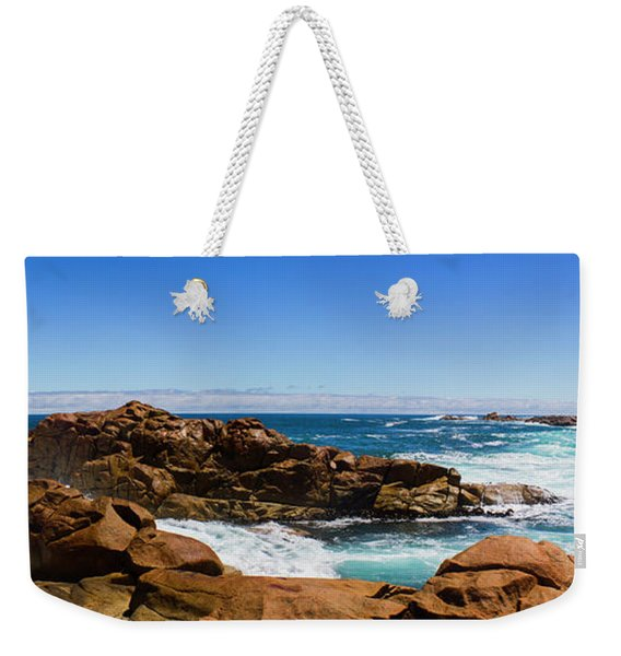 True Blue Aussie Coastline Weekender Tote Bag