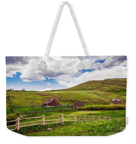 True Grit Ranch Weekender Tote Bag