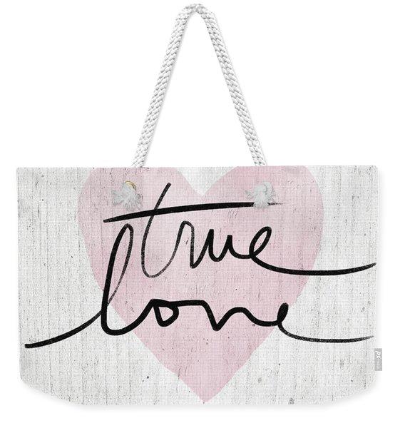 True Love Rustic- Art By Linda Woods Weekender Tote Bag