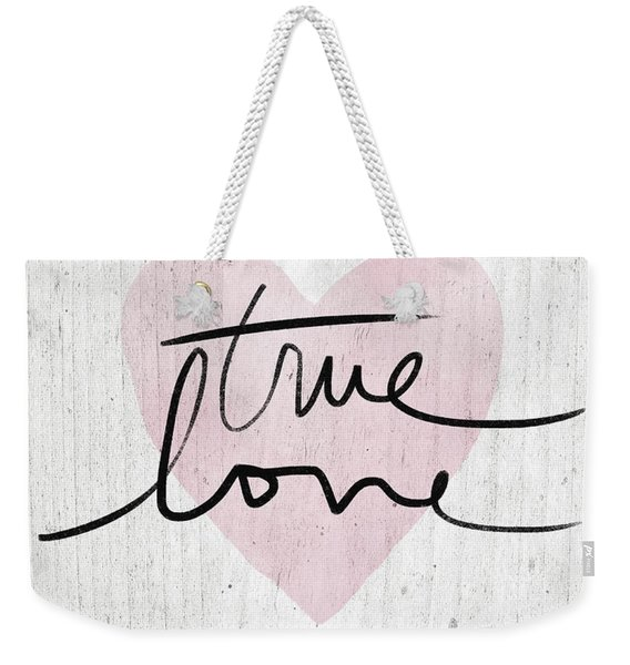 True Love Rustic- Art By Linda Woods Weekender Tote Bag