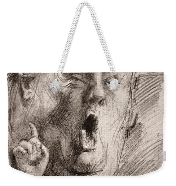 Trump A Dengerous A-hole Weekender Tote Bag