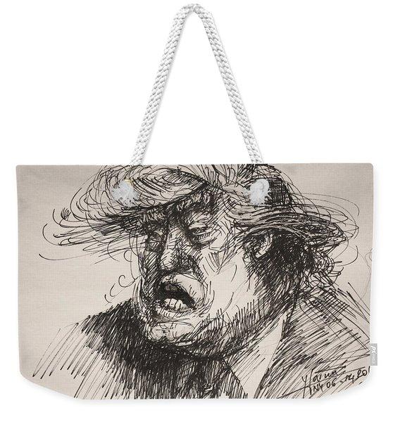 Trump Harmful Ignorant Weekender Tote Bag