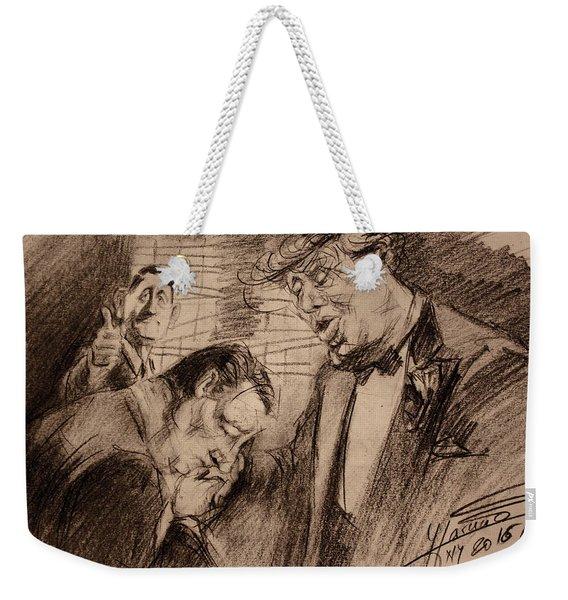 Trump, Ryan, Ted, Full House  Weekender Tote Bag