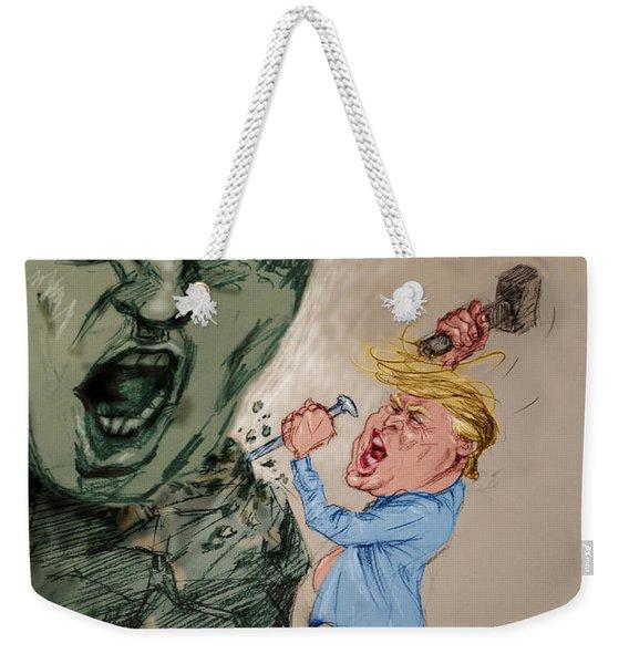 Trump Shaping The Future  Weekender Tote Bag