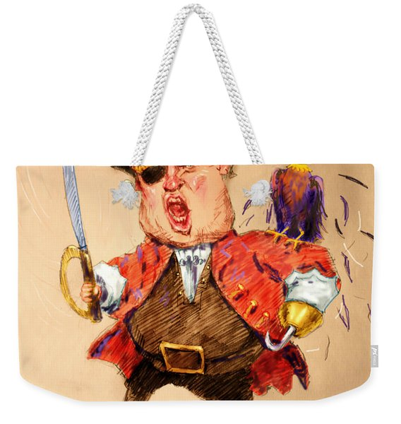 Trump, The Short Fingers Pirate With Ryan, The Bird Weekender Tote Bag