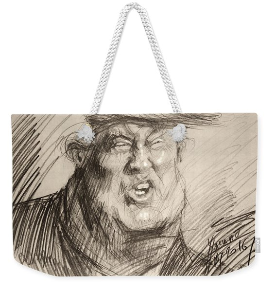 Trump-the Womanizer For President Weekender Tote Bag