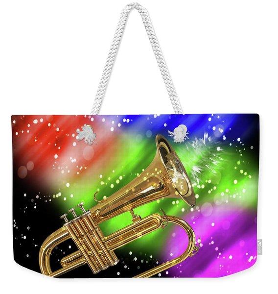 Trumpet Celebration Weekender Tote Bag