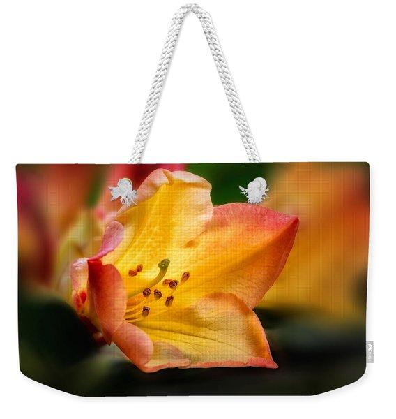 Trumpet Of Spring Weekender Tote Bag