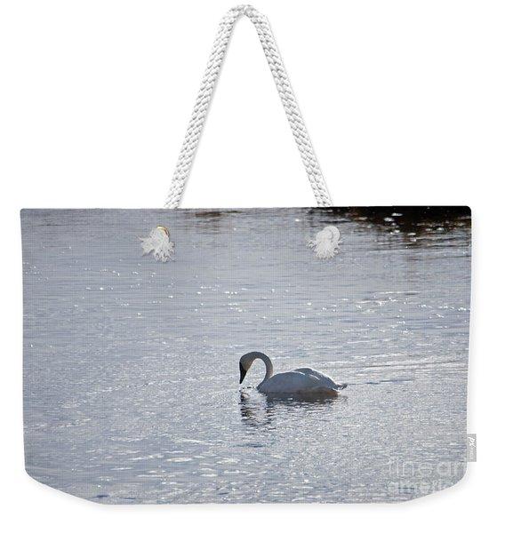 Trumpeter Swan Yellowstone Weekender Tote Bag