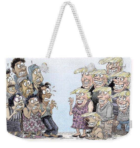 Trumpettes Horror Weekender Tote Bag
