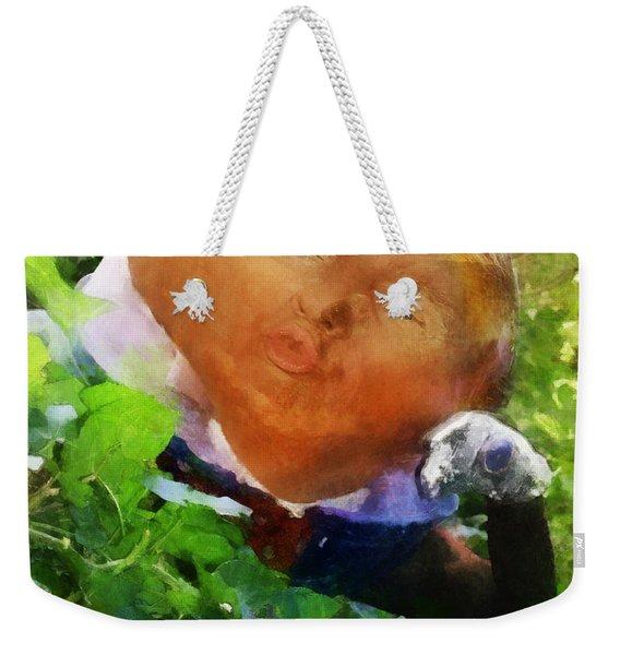 Trumpty Dumpty San On A Wall Weekender Tote Bag