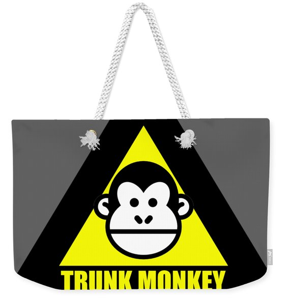 Trunk Monkey Weekender Tote Bag