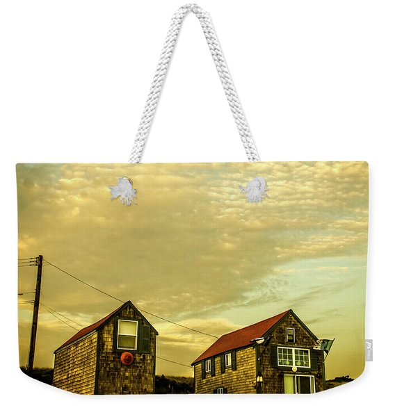 Truro Beach Houses Weekender Tote Bag
