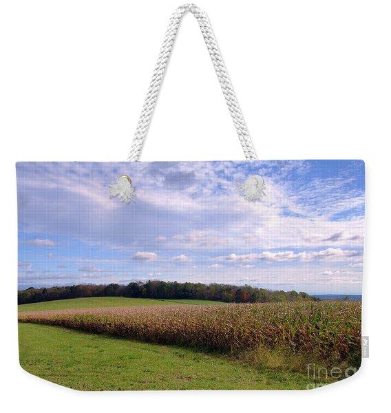 Trusting Harvest Weekender Tote Bag