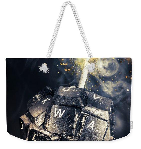 Truth Bombs Weekender Tote Bag
