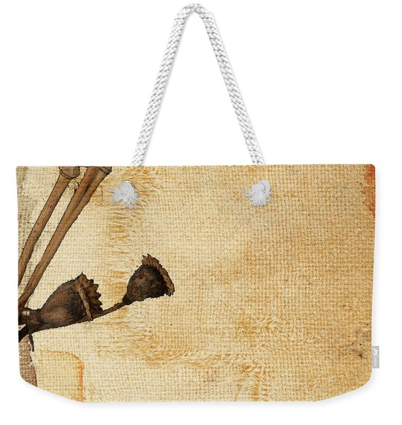 Truth In Raw Simplicity I Weekender Tote Bag
