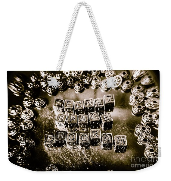 Truth Is Stranger Than Fiction Weekender Tote Bag