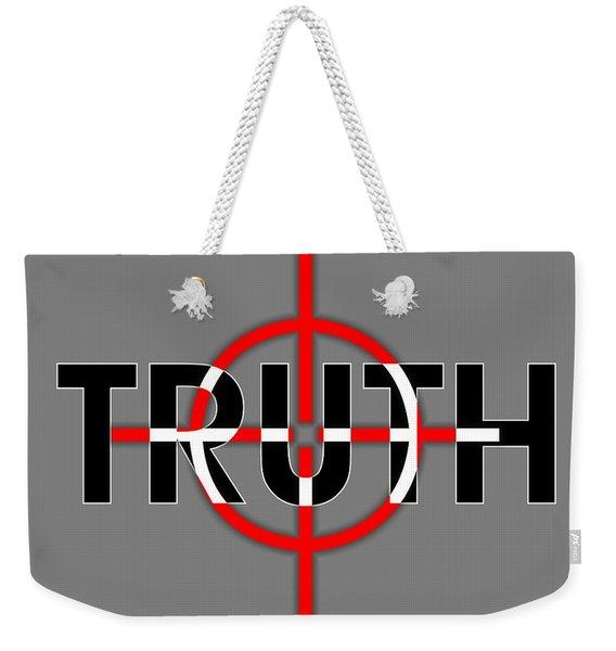 Truth Under Siege Weekender Tote Bag