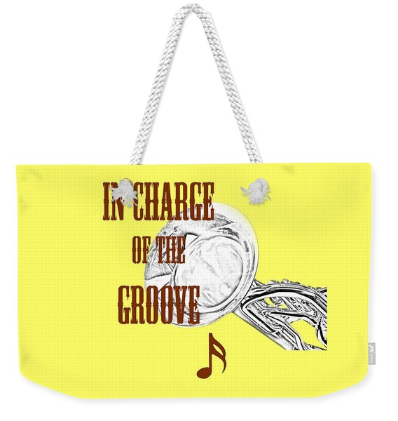 Tubas In Charge Of The Groove 5537.02 Weekender Tote Bag
