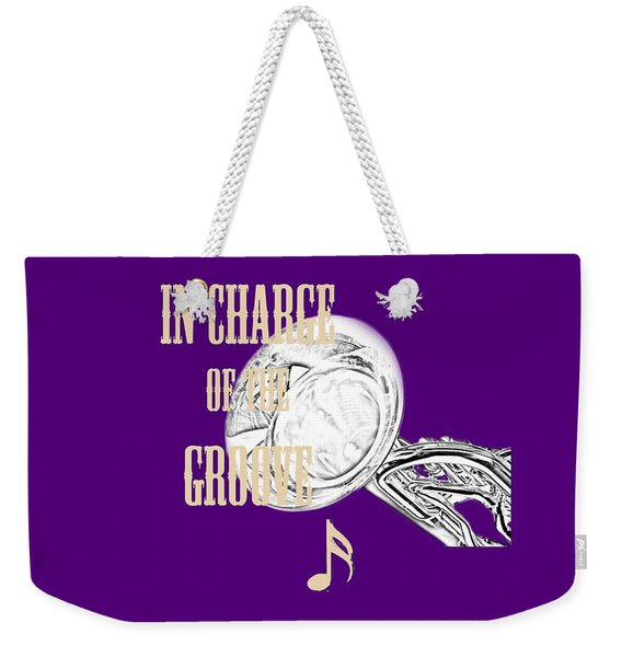 Tubas In Charge Of The Groove 5538.02 Weekender Tote Bag