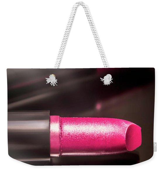 Tubes Of Coloruful Pink Lipsticks Weekender Tote Bag