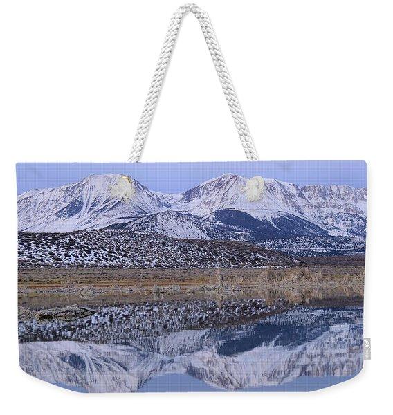 Tufa Dawn Winter Dreamscape Weekender Tote Bag