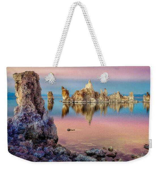 Tufas At Mono Lake Weekender Tote Bag