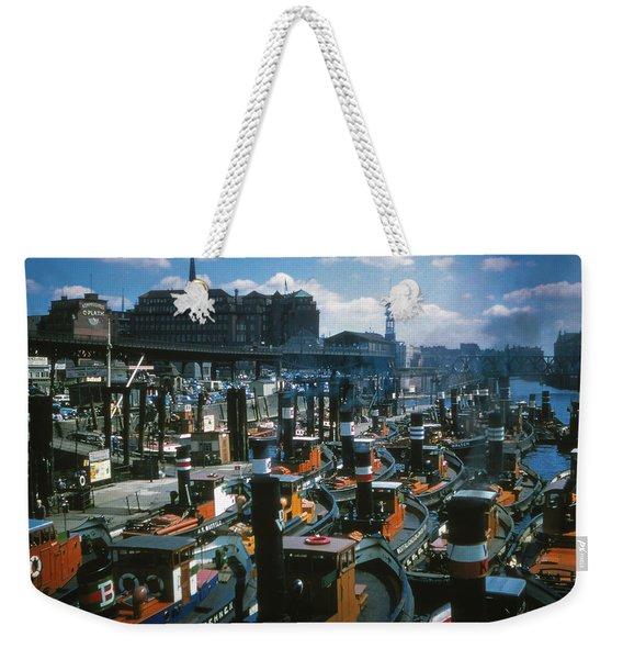 Tugs - Hamburg Weekender Tote Bag