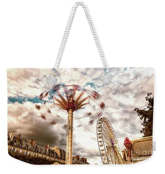 Tuilerie Garden Paris Swings Weekender Tote Bag