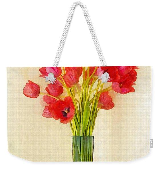 Tulip Bouquet Weekender Tote Bag