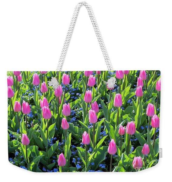 Tulip Christmas Dream Flowers Weekender Tote Bag