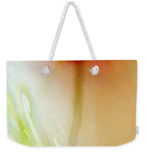 Weekender Tote Bag featuring the photograph Tulip Dancer by Patricia Strand