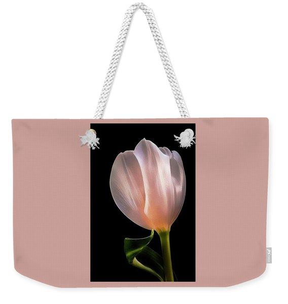 Tulip In Light Weekender Tote Bag