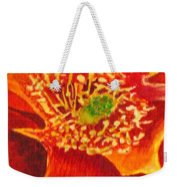 Tulip Prickly Pear Weekender Tote Bag