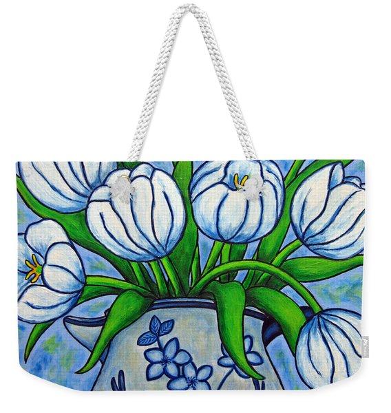 Tulip Tranquility Weekender Tote Bag