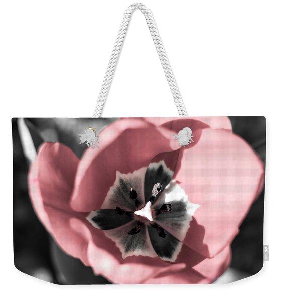 Tulip Up Close Weekender Tote Bag