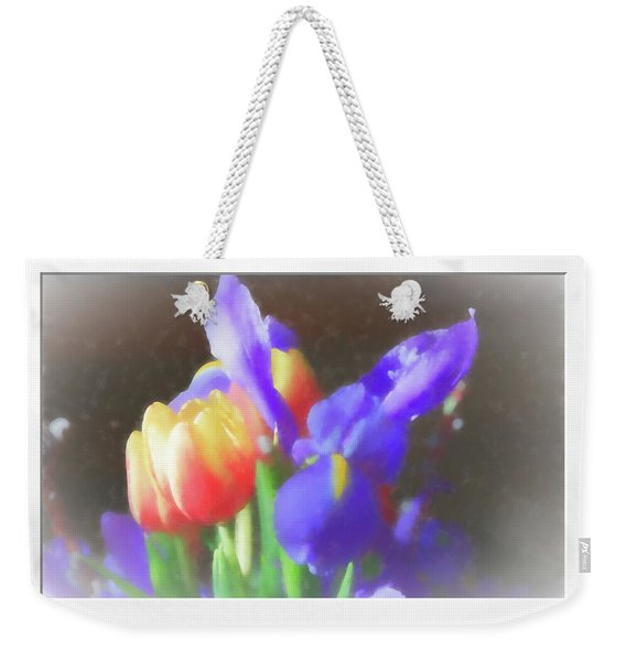 Tulips And Iris Weekender Tote Bag